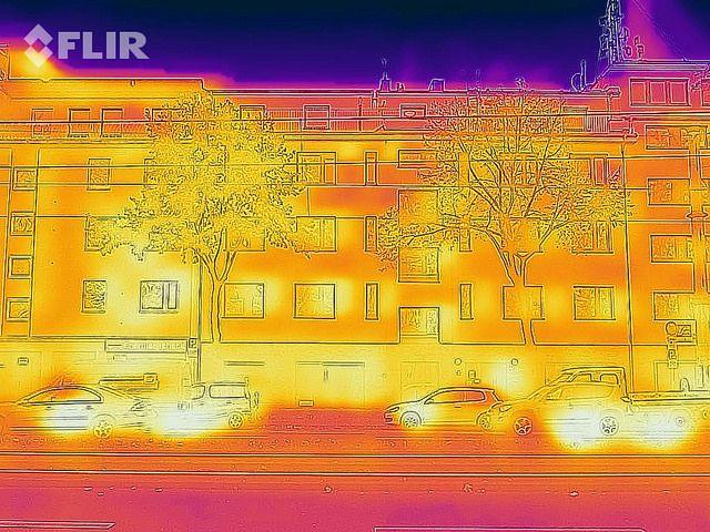 Thermographie de bâtiment par des professionnels